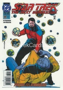 Star Trek The Next Generation Portfolio Prints Series One Trading Card Comic 69