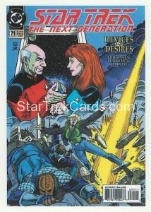 Star Trek The Next Generation Portfolio Prints Series One Trading Card Comic 71