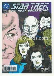 Star Trek The Next Generation Portfolio Prints Series One Trading Card Comic 79