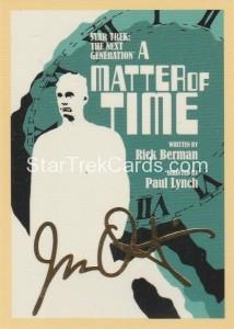 Star Trek The Next Generation Portfolio Prints Series One Trading Card Gold 109
