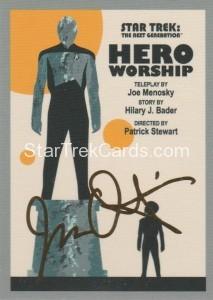 Star Trek The Next Generation Portfolio Prints Series One Trading Card Gold 111