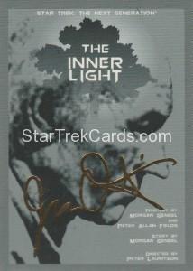 Star Trek The Next Generation Portfolio Prints Series One Trading Card Gold 125