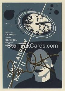 Star Trek The Next Generation Portfolio Prints Series One Trading Card Gold 127