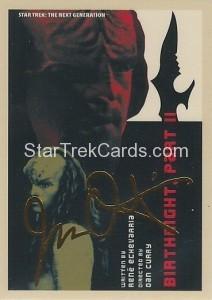 Star Trek The Next Generation Portfolio Prints Series One Trading Card Gold 143