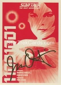 Star Trek The Next Generation Portfolio Prints Series One Trading Card Gold 15