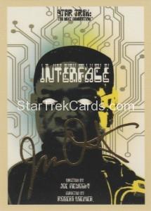 Star Trek The Next Generation Portfolio Prints Series One Trading Card Gold 155