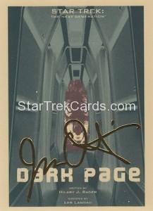 Star Trek The Next Generation Portfolio Prints Series One Trading Card Gold 159