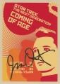 Star Trek The Next Generation Portfolio Prints Series One Trading Card Gold 19