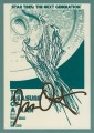 Star Trek The Next Generation Portfolio Prints Series One Trading Card Gold 35
