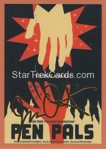 Star Trek The Next Generation Portfolio Prints Series One Trading Card Gold 41