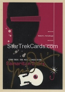 Star Trek The Next Generation Portfolio Prints Series One Trading Card Gold 43