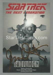 Star Trek The Next Generation Portfolio Prints Series One Trading Card Gold 49