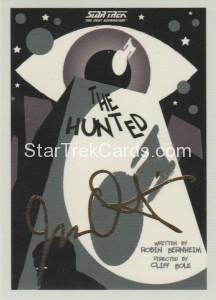 Star Trek The Next Generation Portfolio Prints Series One Trading Card Gold 59