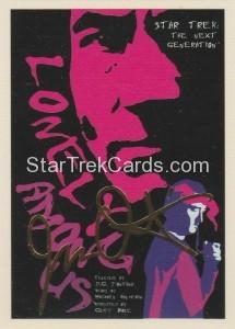Star Trek The Next Generation Portfolio Prints Series One Trading Card Gold 7