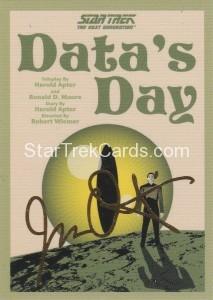 Star Trek The Next Generation Portfolio Prints Series One Trading Card Gold 85