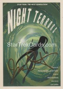 Star Trek The Next Generation Portfolio Prints Series One Trading Card Gold 91