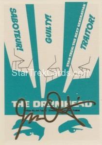 Star Trek The Next Generation Portfolio Prints Series One Trading Card Gold 95