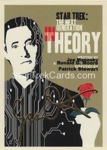 Star Trek The Next Generation Portfolio Prints Series One Trading Card Gold 99