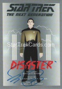 Star Trek The Next Generation Portfolio Prints Series One Trading Card JOA105
