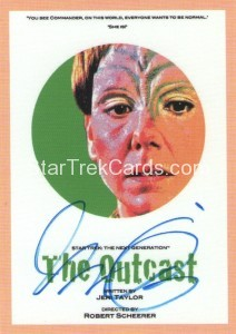 Star Trek The Next Generation Portfolio Prints Series One Trading Card JOA117