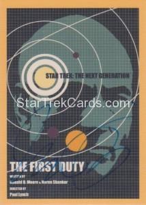 Star Trek The Next Generation Portfolio Prints Series One Trading Card JOA119
