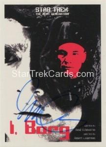 Star Trek The Next Generation Portfolio Prints Series One Trading Card JOA123
