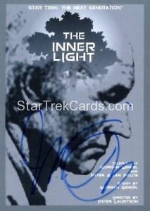 Star Trek The Next Generation Portfolio Prints Series One Trading Card JOA125