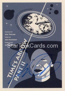 Star Trek The Next Generation Portfolio Prints Series One Trading Card JOA127