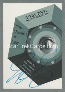 Star Trek The Next Generation Portfolio Prints Series One Trading Card JOA135