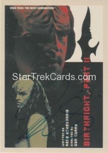 Star Trek The Next Generation Portfolio Prints Series One Trading Card JOA143