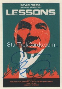 Star Trek The Next Generation Portfolio Prints Series One Trading Card JOA145