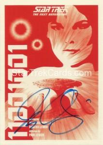 Star Trek The Next Generation Portfolio Prints Series One Trading Card JOA15