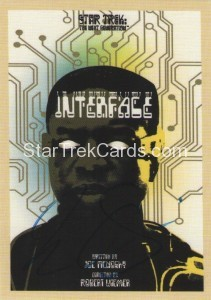 Star Trek The Next Generation Portfolio Prints Series One Trading Card JOA155