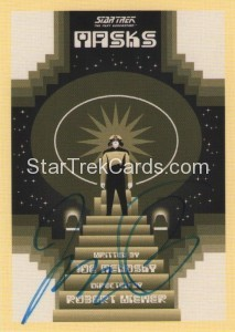 Star Trek The Next Generation Portfolio Prints Series One Trading Card JOA169