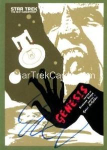 Star Trek The Next Generation Portfolio Prints Series One Trading Card JOA171