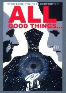 Star Trek The Next Generation Portfolio Prints Series One Trading Card JOA177