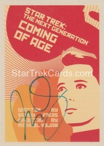 Star Trek The Next Generation Portfolio Prints Series One Trading Card JOA19