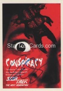 Star Trek The Next Generation Portfolio Prints Series One Trading Card JOA25