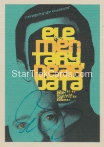 Star Trek The Next Generation Portfolio Prints Series One Trading Card JOA29