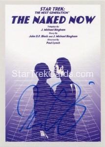 Star Trek The Next Generation Portfolio Prints Series One Trading Card JOA3