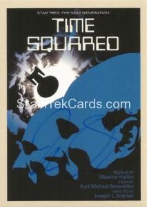Star Trek The Next Generation Portfolio Prints Series One Trading Card JOA39