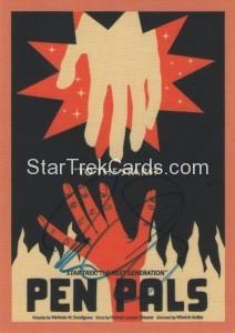 Star Trek The Next Generation Portfolio Prints Series One Trading Card JOA41