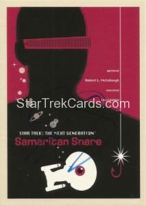 Star Trek The Next Generation Portfolio Prints Series One Trading Card JOA43