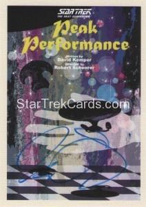 Star Trek The Next Generation Portfolio Prints Series One Trading Card JOA47
