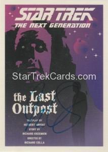 Star Trek The Next Generation Portfolio Prints Series One Trading Card JOA5