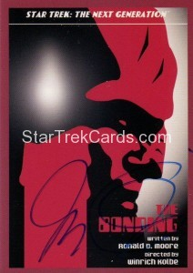Star Trek The Next Generation Portfolio Prints Series One Trading Card JOA53