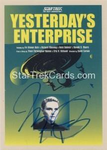 Star Trek The Next Generation Portfolio Prints Series One Trading Card JOA63