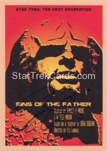 Star Trek The Next Generation Portfolio Prints Series One Trading Card JOA65