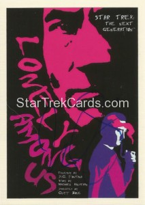 Star Trek The Next Generation Portfolio Prints Series One Trading Card JOA7