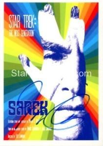 Star Trek The Next Generation Portfolio Prints Series One Trading Card JOA71